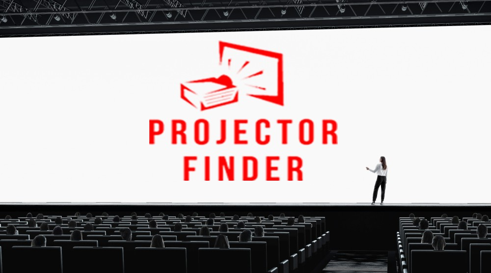 Widescreen Position in a Projector