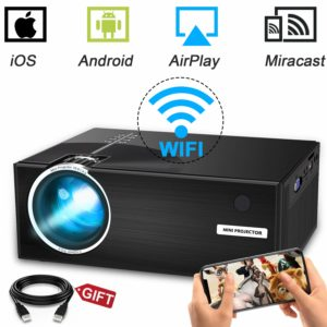 Weton LED Wireless Mini Projector
