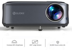 GuDee 5500 Lux Native 1080P Projector