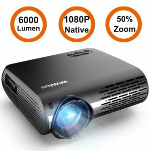 WiMiUS P20 Native 1080P LED Projector