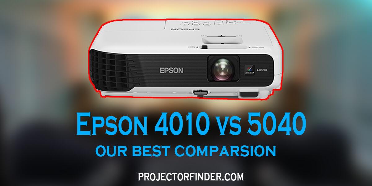 Epson 4010 vs 5040 Comparison