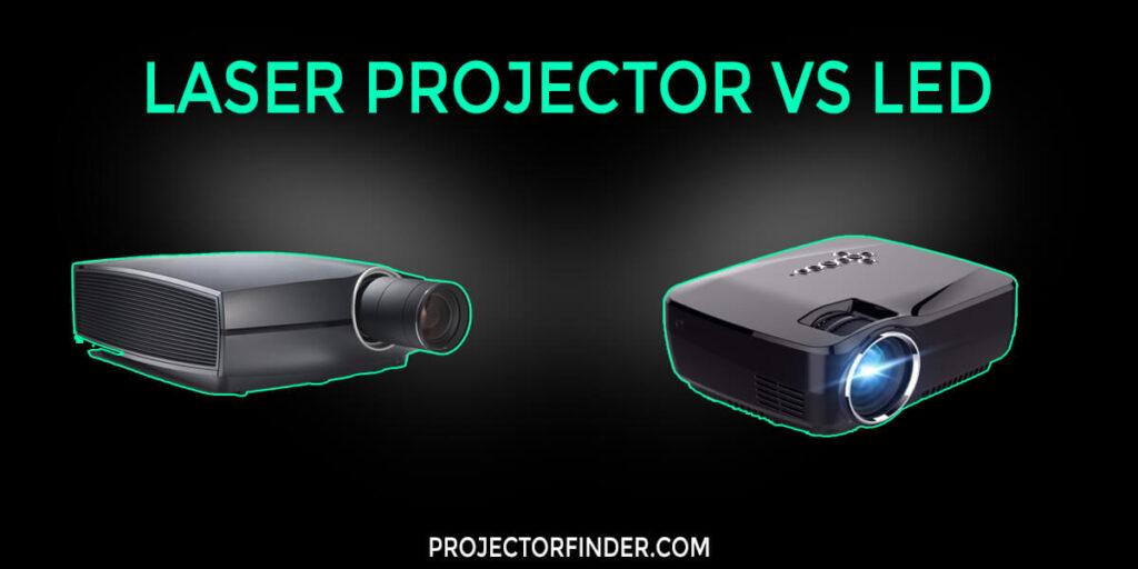 Laser Projector vs LED