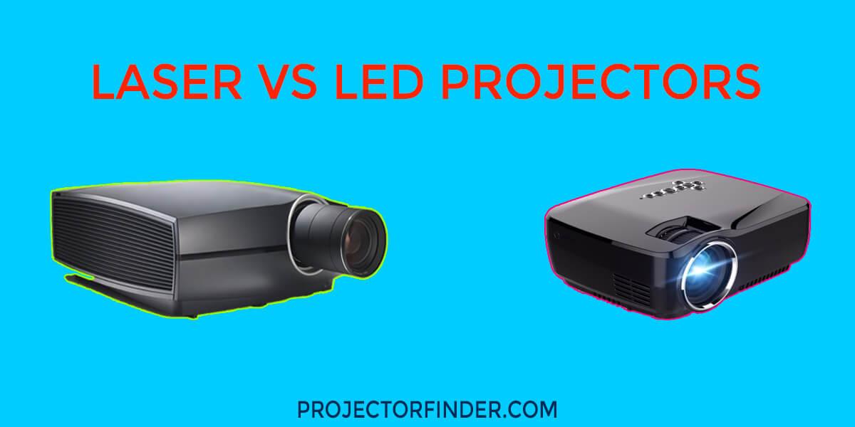 Laser vs LED Projector