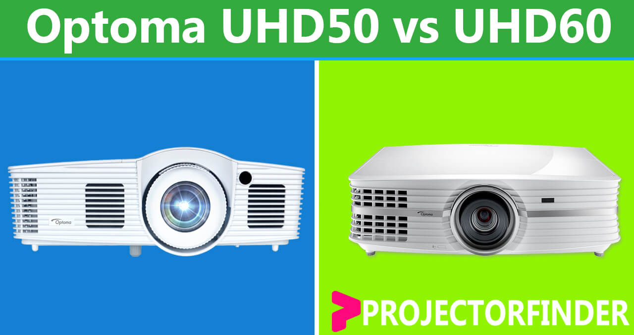 Optoma UHD50 vs UHD60