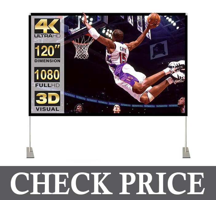 4K Outdoor Projection Screen for Home Theater