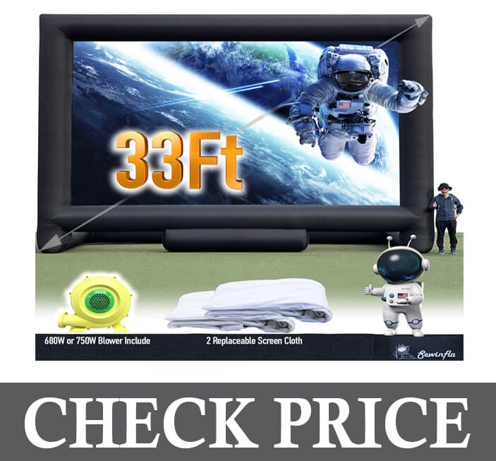 Sewinfla Giant Inflatable Movie Screen Outdoor