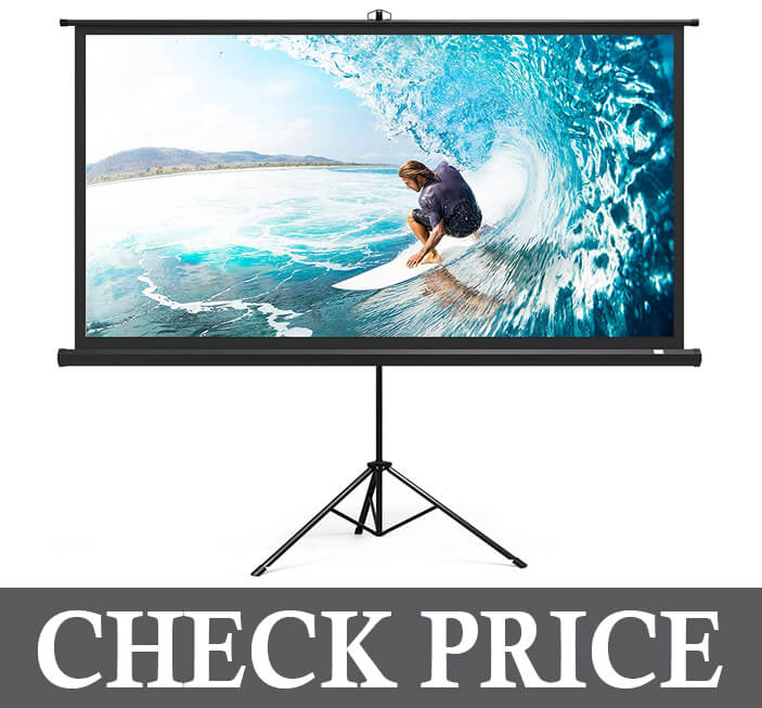 TaoTronics Projector Screen with Stand