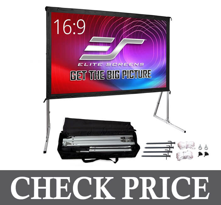Elite Screens 120-inch Projector Screen