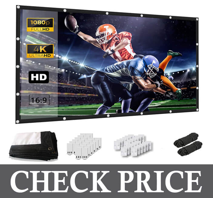 Keenstone 120 Inch Projection Screen