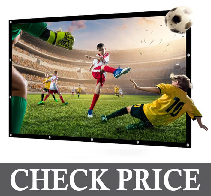 Nierbo 72 Inch Portable Projector Screen