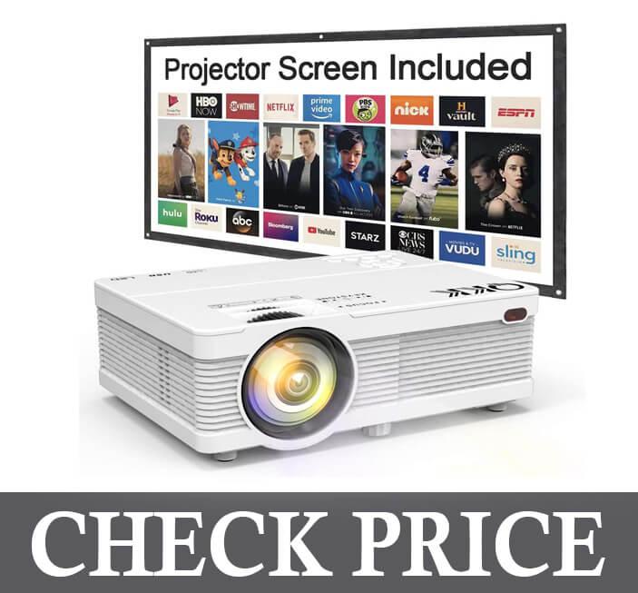 QKK Mini 5500 Projector