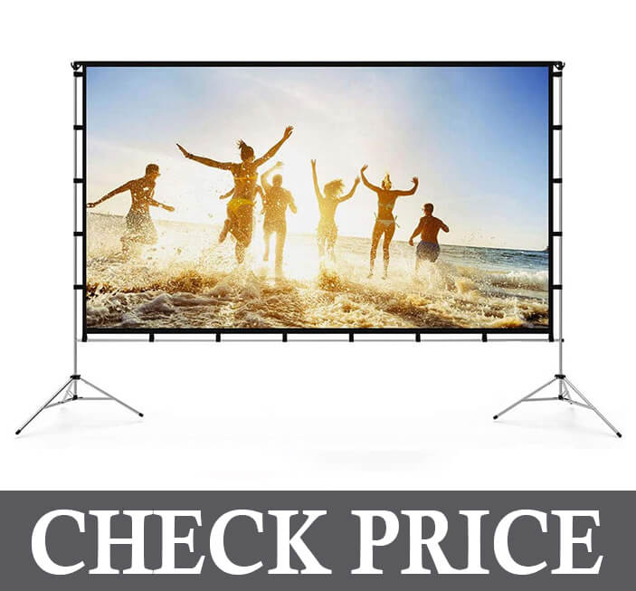 Vamvo Dual Projector Screen