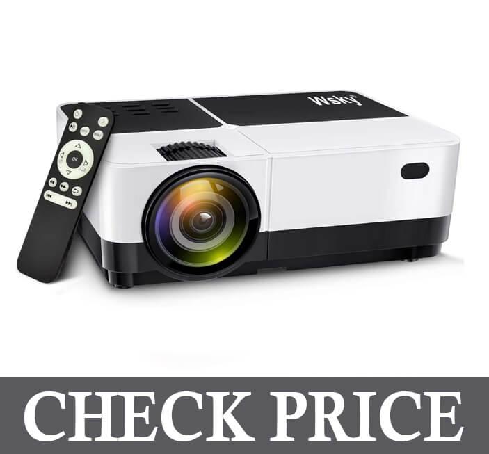 Wsky Video Outdoor Projector